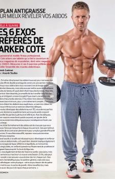 Parker Cote Men's Fitness COACH Magazine Abs Workout