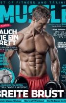 Men's Health MUSCLE cover Parker Cote-Boston Personal Trainer