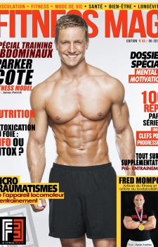 Parker Cote Fitness Mag Cover