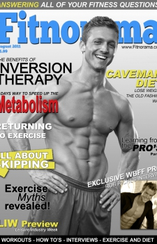 Parker Cote Fitness Magazine Cover