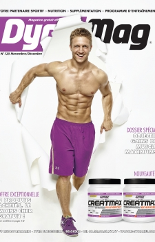 Parker Cote Fitness Magazine Cover DynaMag