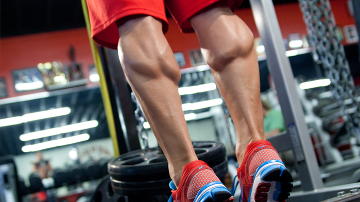 leg workout calves