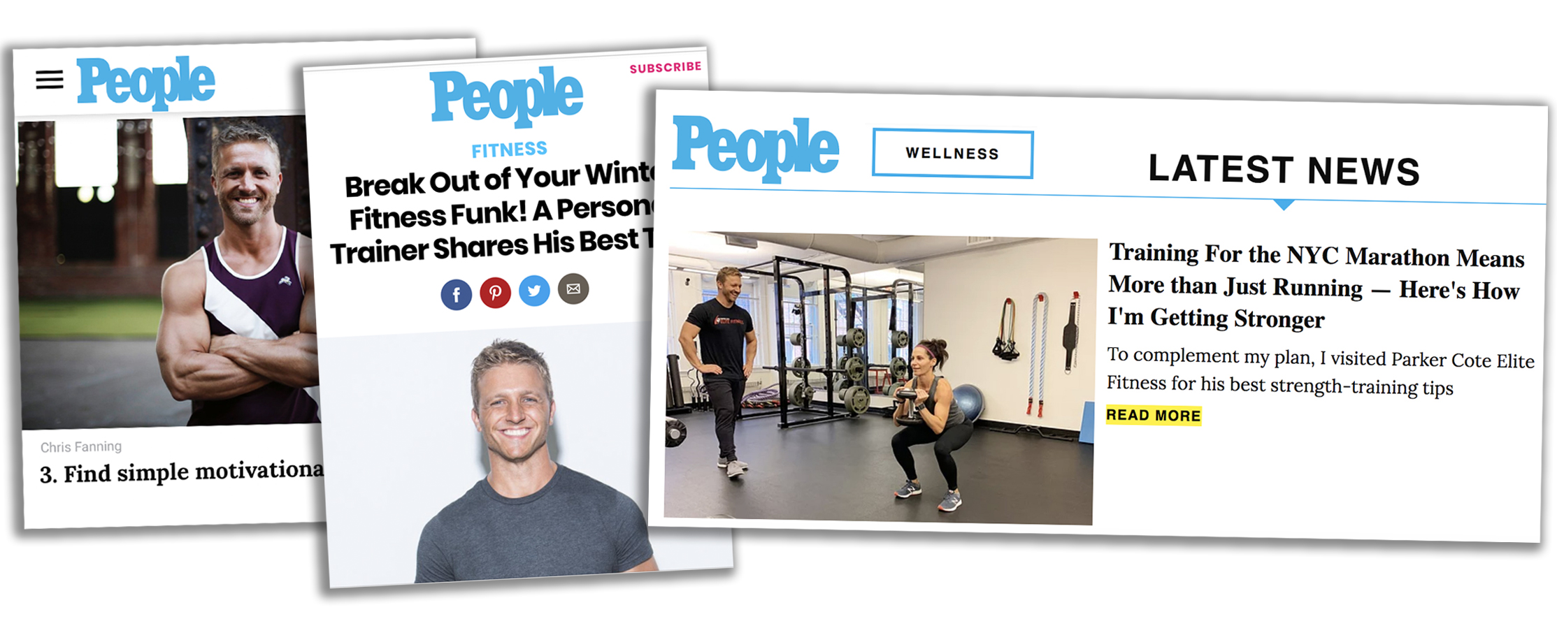 Boston personal trainer, People Magazine