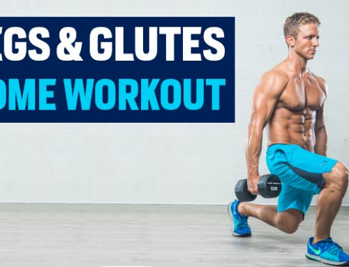 Home Legs and Glutes Workout: Quarantine Workout Series