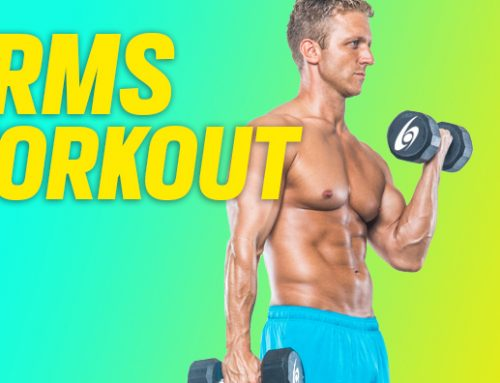 Arms Workout at Home   Power Superset Routine