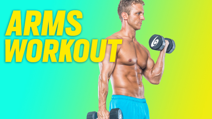 arms workout at home