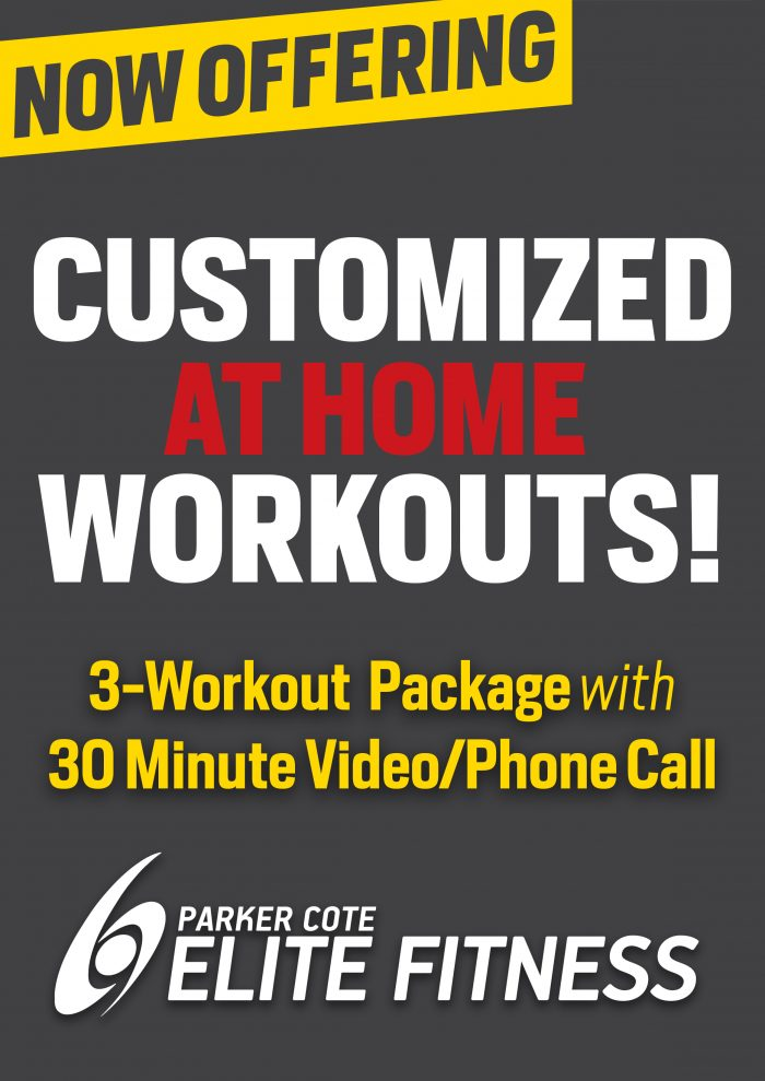 customized home workouts